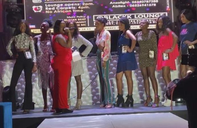 Esenyurt'ta güzellik yarışması; 'Miss Uganda'