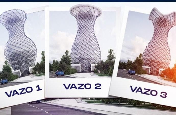 MHP'li belediyeden vizyon projesi: 70 metrelik vazo