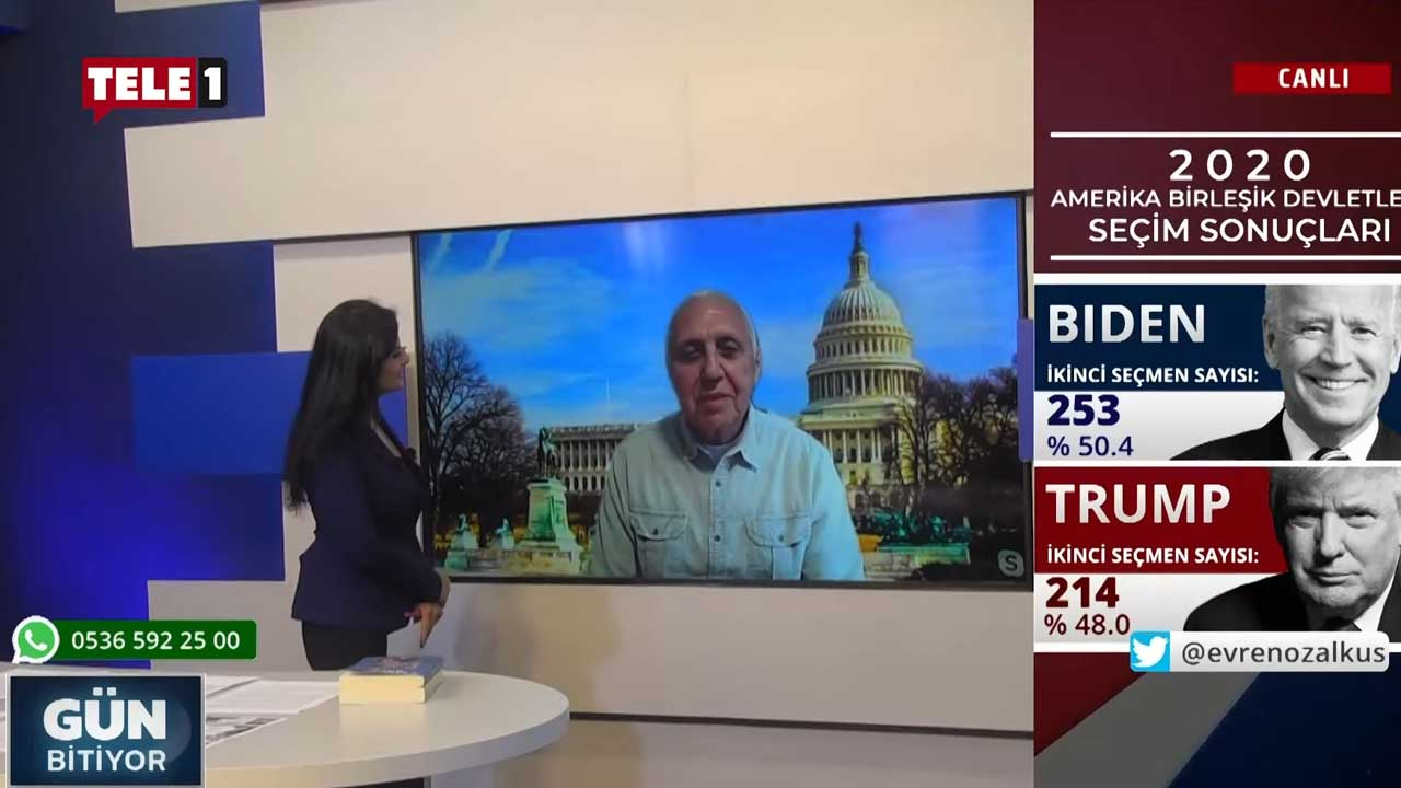 TELE1 Washington temsilcisi Yılmaz Polat ABD seçimlerini değerlendirdi