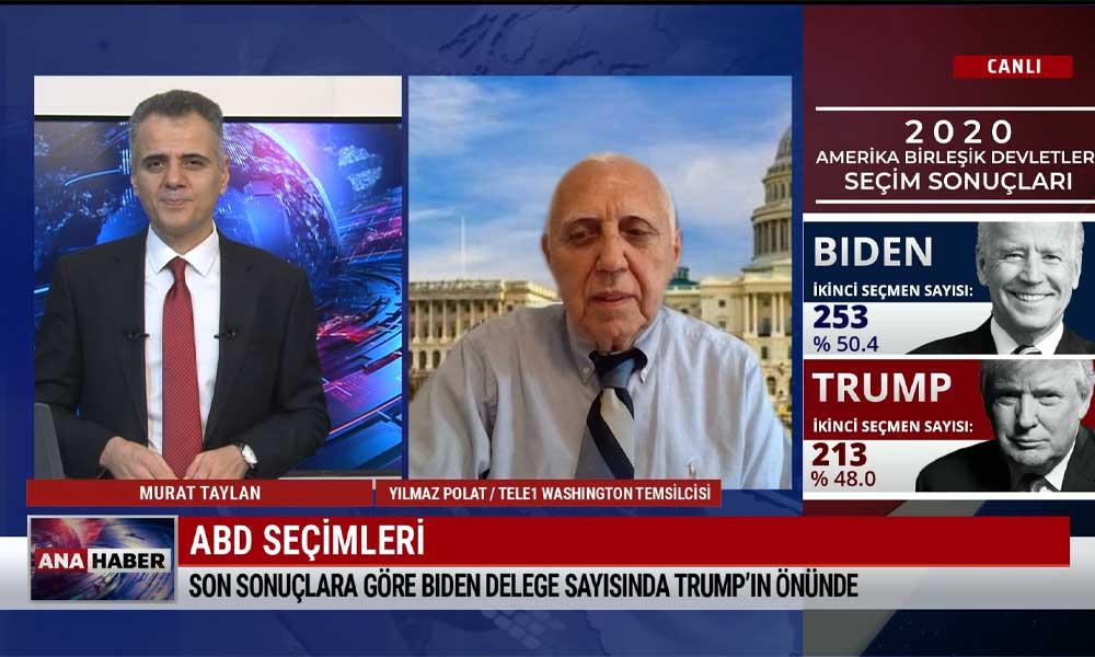 TELE1 Washington Temsilcisi Yılmaz Polat aktardı: ABD'deki seçimlerde son durum ne?