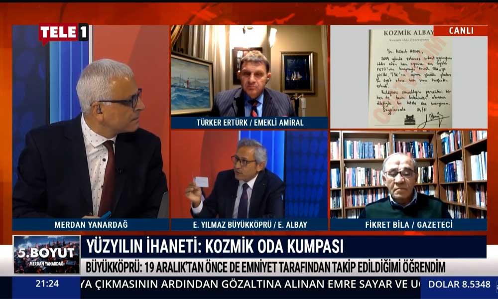 Emekli Albay Erkan Yılmaz Büyükköprü: Kağıdı cebime polisler koydu