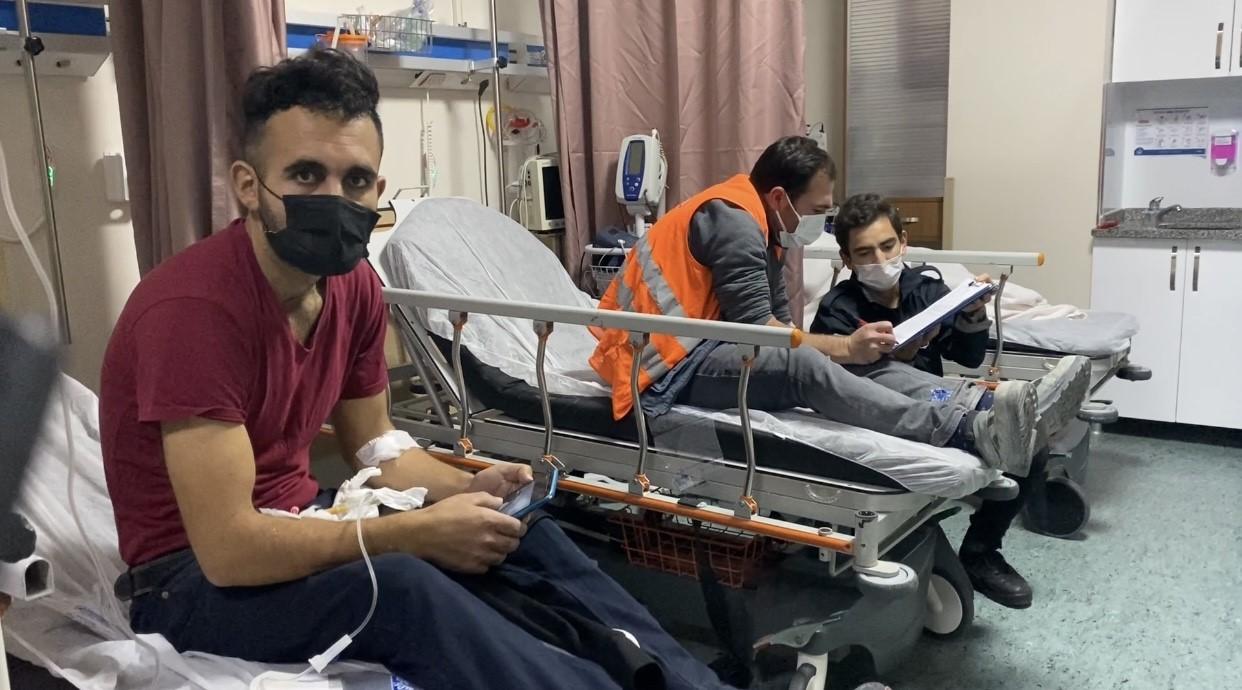 Yemekten zehirlenme iddiası: 200 işçi hastaneye kaldırıldı