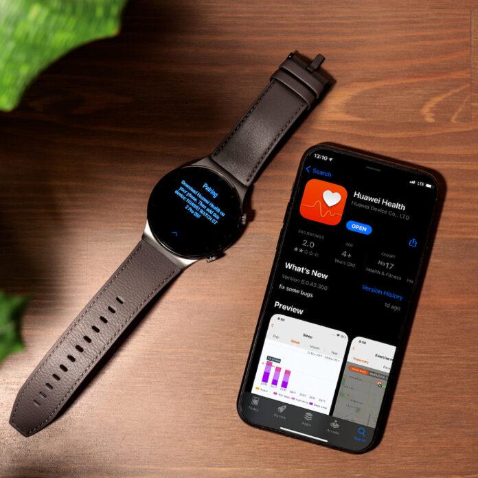 Her platformda Huawei Health uygulaması
