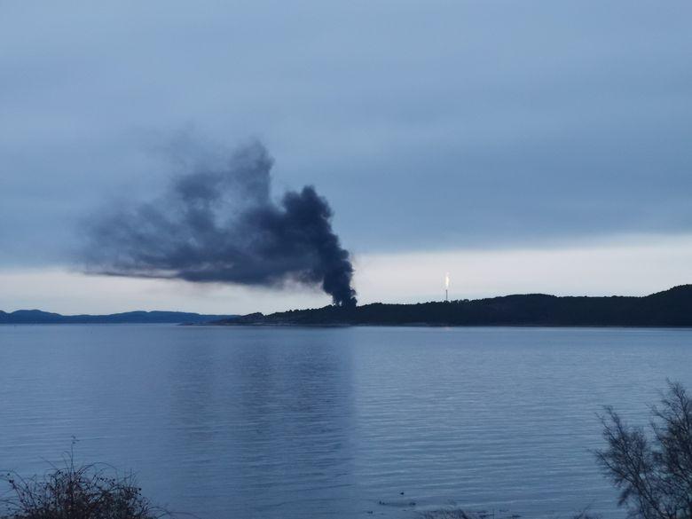 Norveç'te petrol tesisinde yangın