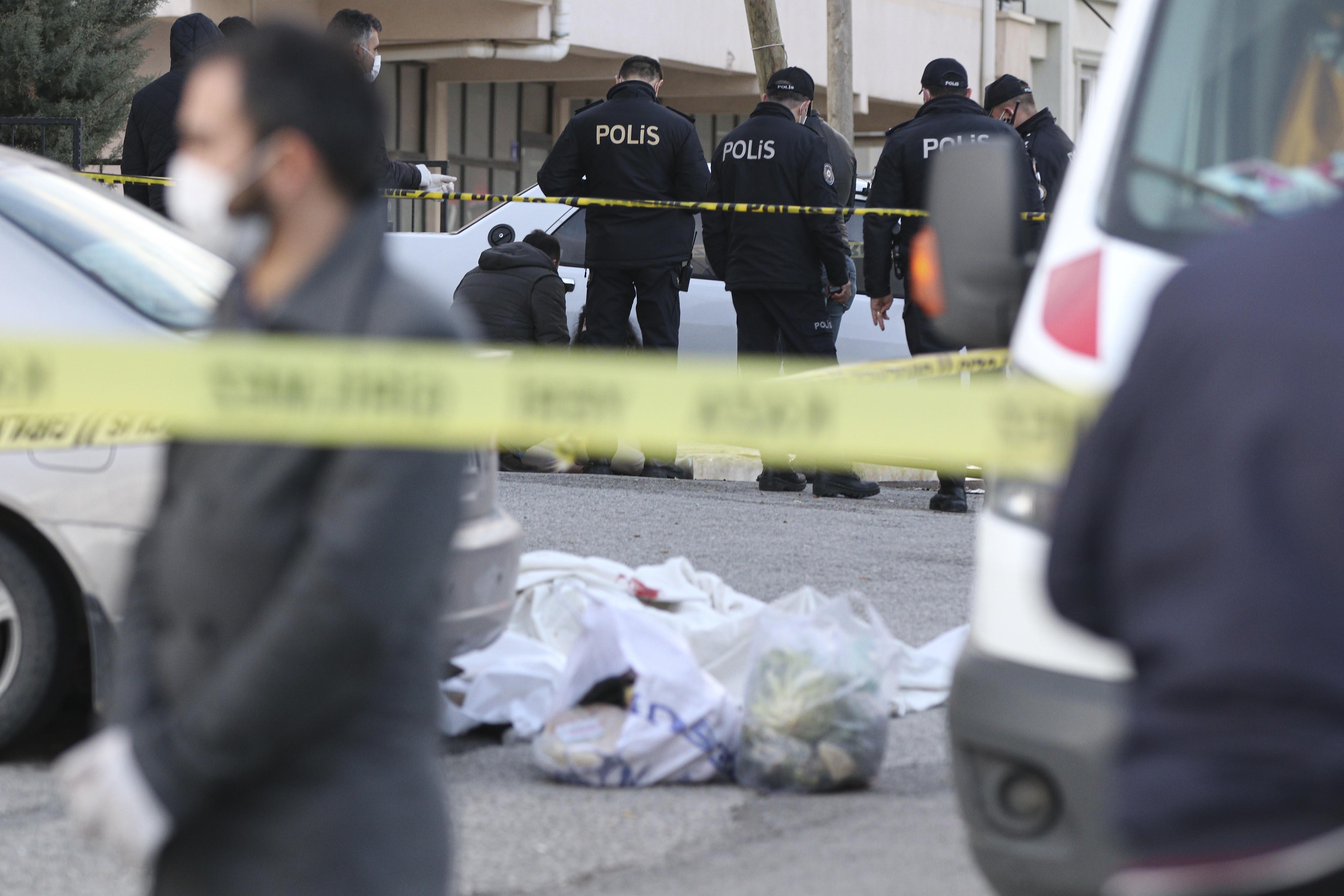 Ankara'da kadın cinayeti: Önce tartıştığı kadını ardından kendini öldürdü