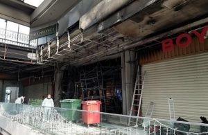 Alışveriş merkezinde aynı gün içerisinde iki yangın