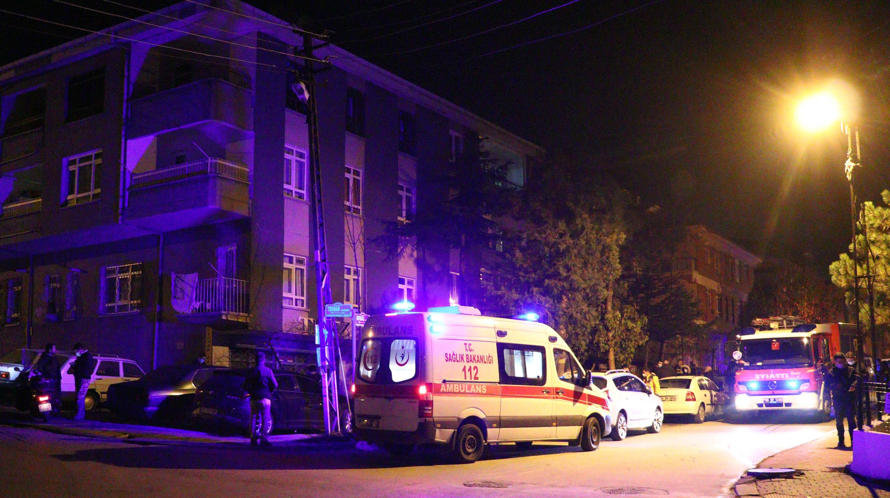 Elektrikli sobadan çıkan yangında 80 yaşındaki kadın hayatını kaybetti