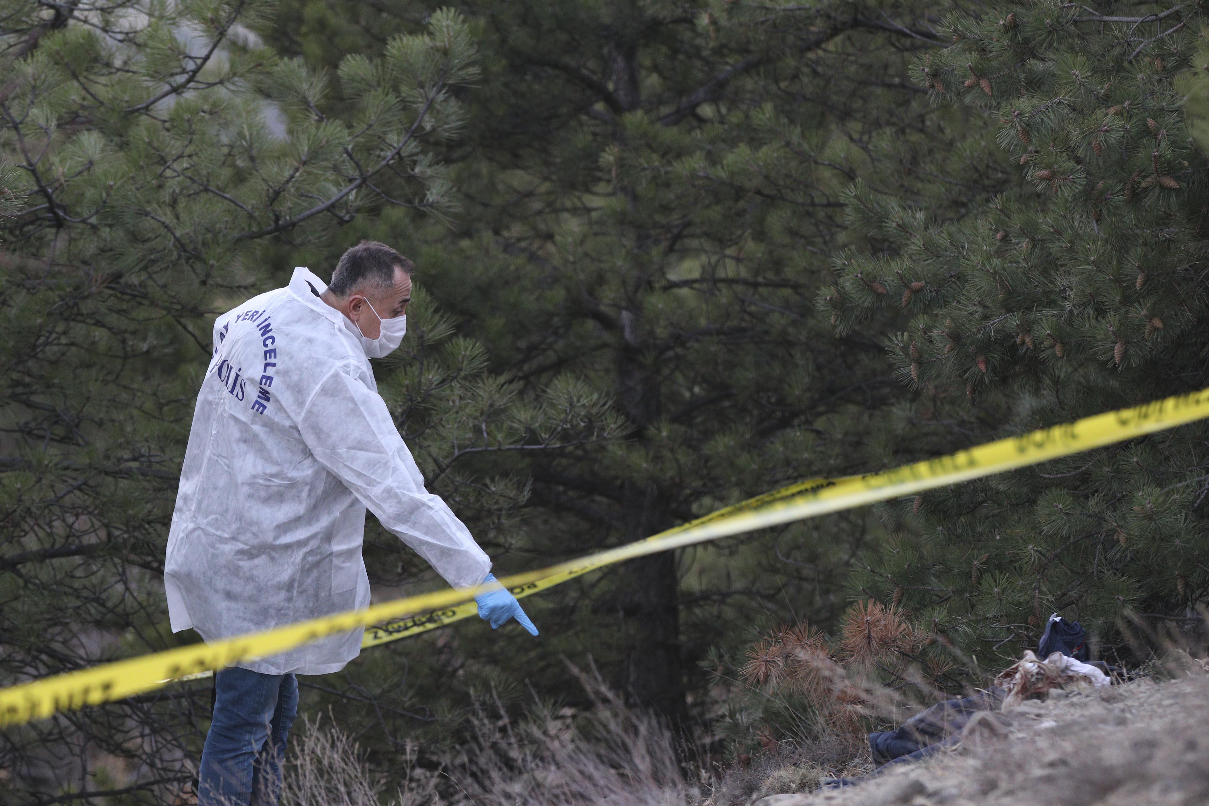 Boş arazide bulunan şey korku yarattı: Kısa sürede birçok polis ekibi olay yerine geldi!