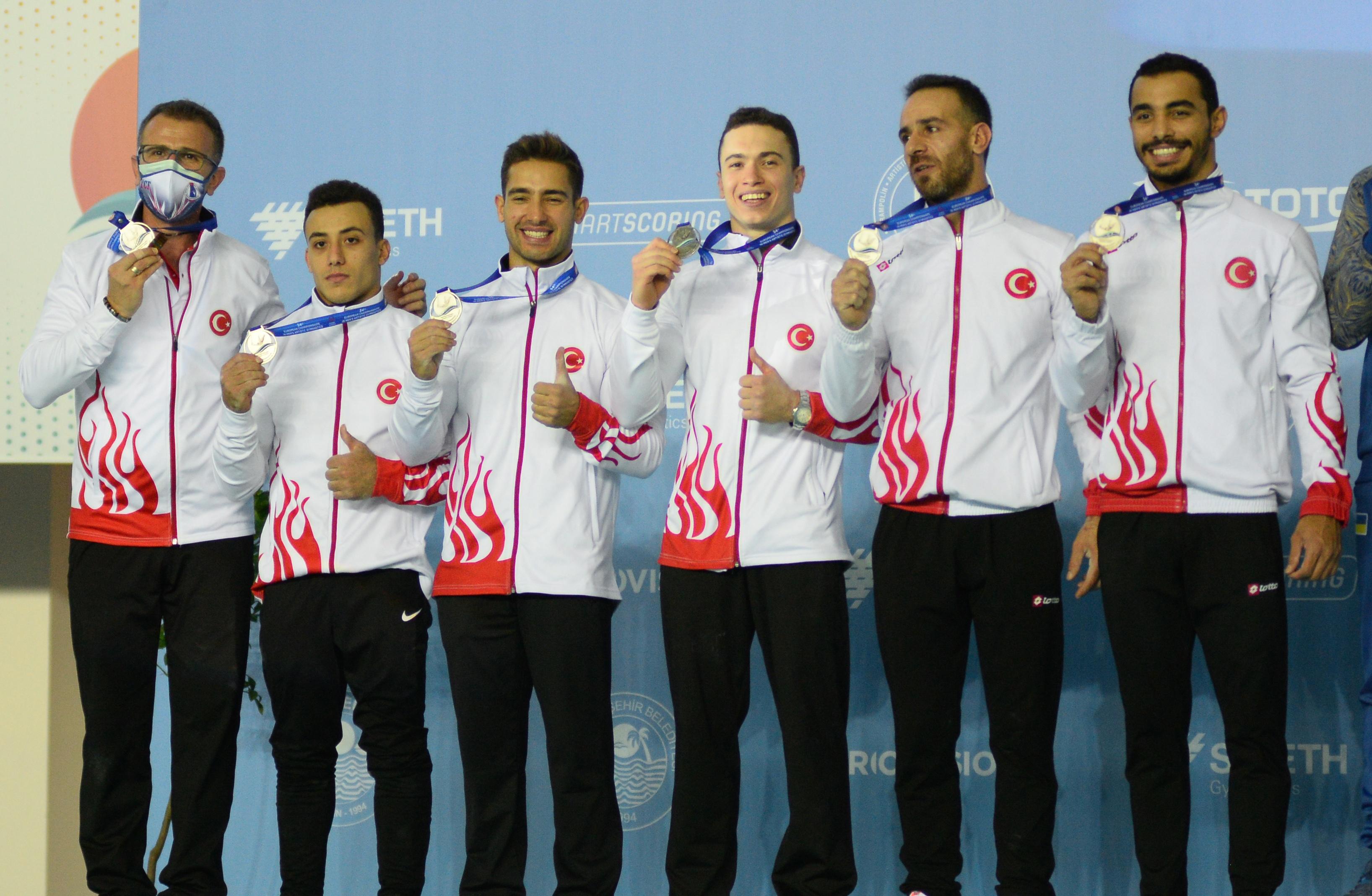 Cimnastik Milli Takımı'na gümüş madalya!