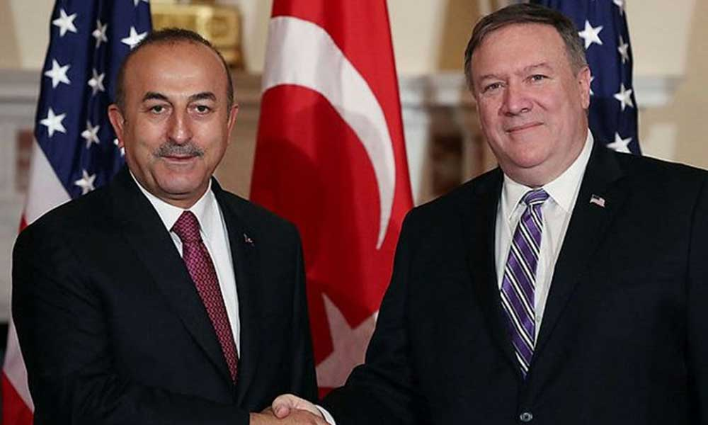Flaş iddia: 'Çavuşoğlu ile ABD Dışişleri Bakanı Pompeo birbirine girdi!'