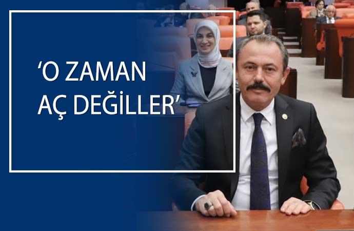 AKP'nin halka bakışı Meclis'te tescillendi: Kuru ekmek yiyen aç değildir