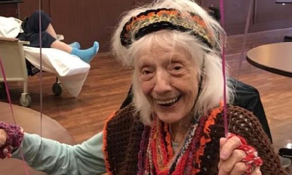 102 yaşındaki kadın rekor kırdı: Bebeklik döneminde İspanyol gribini, 9 ayda 2 kez de Covid-19'u yendi