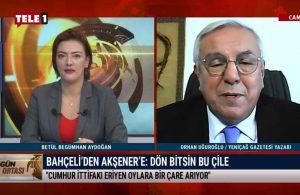 """""""MHP'nin aday çıkarması siyasetin gereğidir"""" – GÜN ORTASI"""