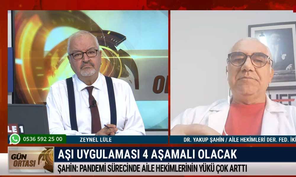 Aşılanma sırasında uygulanması gereken aşamaları Dr. Yakup Şahin açıkladı