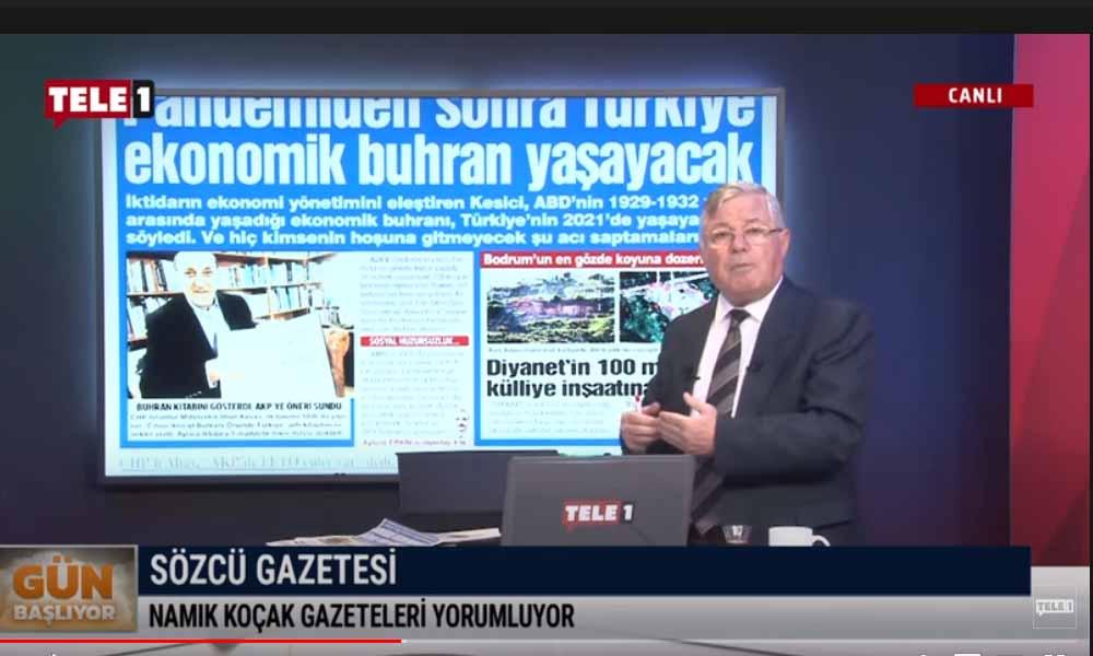 """""""Türkiye'yi krizden sonra büyük buhran bekliyor"""" – GÜN BAŞLIYOR (14 ARALIK)"""