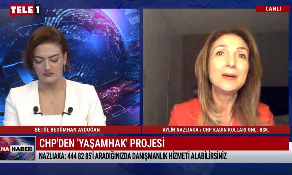 CHP Kadın Kolları'ndan 'Yaşamhak' projesi