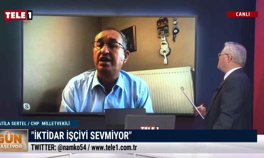CHP'li Sertel: Türkiye'de üretimi AKP bitirdi