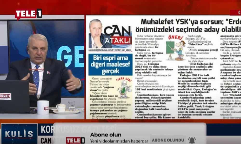 Erdoğan ilk seçime aday olabilir mi? – KULİS