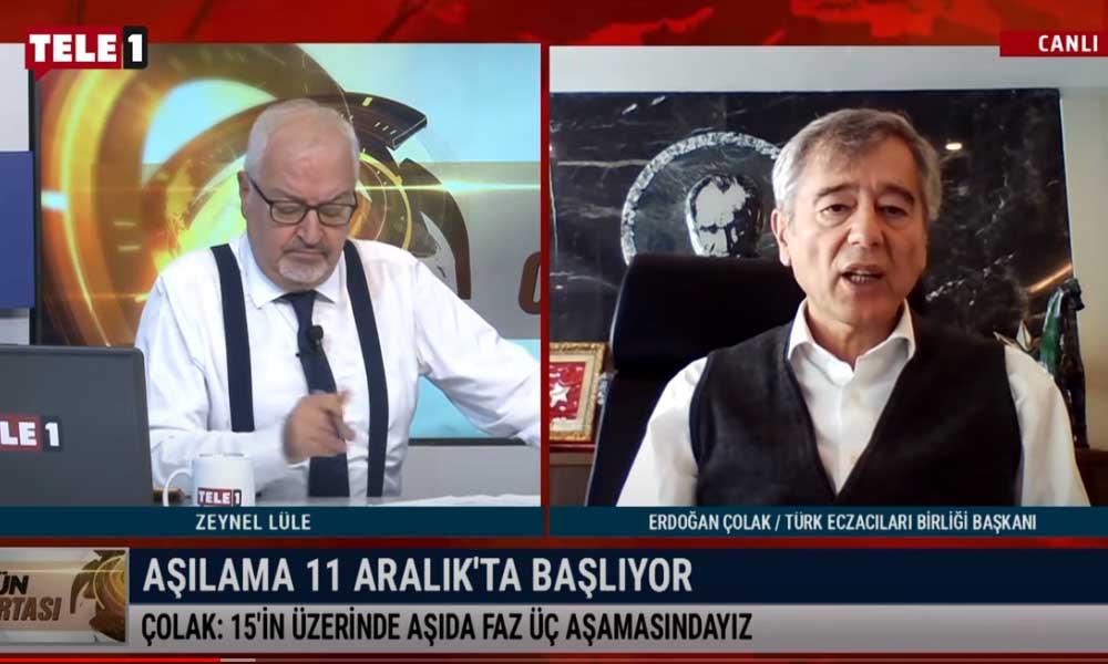 Türkiye'de kaç kişi aşılanacak? Türk Eczacıları Birliği Başkanı Çolak açıkladı