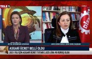 DİSK Genel Başkanı Çerkezoğlu: Belirlenen ücret işçilerin açlığa ve sefalete mahkûm edilmesi anlamına gelmektedir
