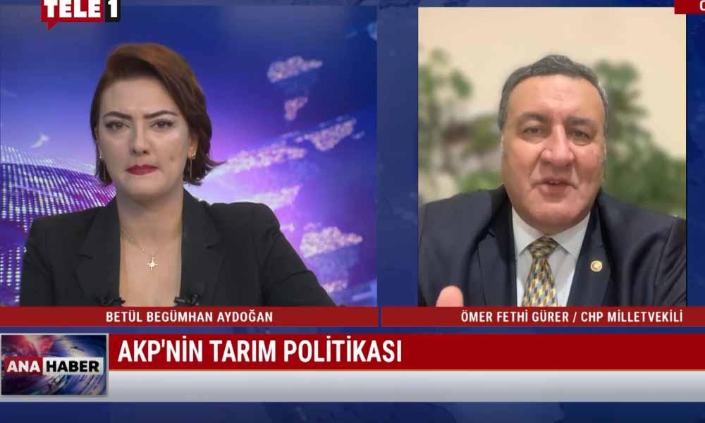 """""""18 yıldır AKP'nin uyguladığı politika tarımın canına okudu"""""""