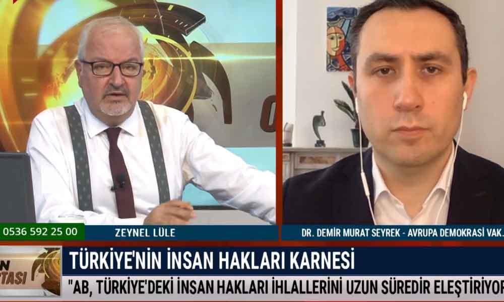 """""""AB, Türkiye'deki insan hakları ihlallerini uzun süredir eleştiriyor"""""""