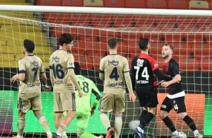 Fenerbahçe yine kaybetti