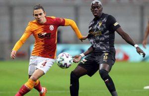 Galatasaray, Göztepe'yi sorunsuz geçti