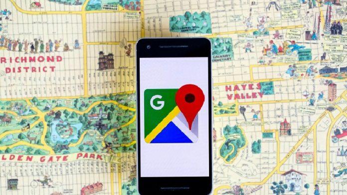 Google Haritalar başka bir yolu öneriyor