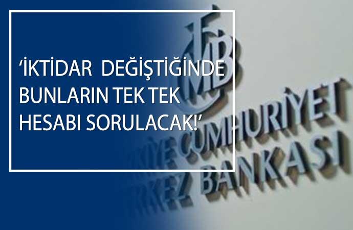 35 yıl Merkez Bankası'nda çalışan milletvekilinden AKP'ye sert çıkış!