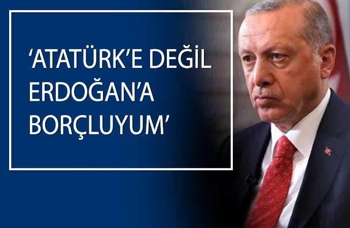CHP'li üyenin 'Bu sıralarda olmayı Atatürk'e borçluyum' sözlerine AKP'liden tepki çeken yanıt