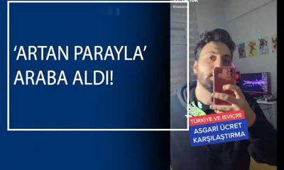 Türkiye ve İsviçre'de asgari ücretle alınabilecekleri karşılaştırdı, video viral oldu!