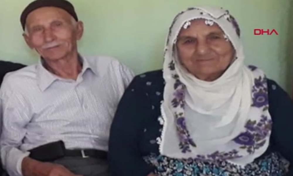 Yaşlı çift aynı gün koronarivüsten hayatını kaybetti