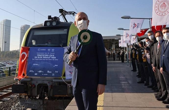 Devlet töreniyle Çin'e gönderilen 'ilk ihracat treni' Maltepe'den geri dönmüş!