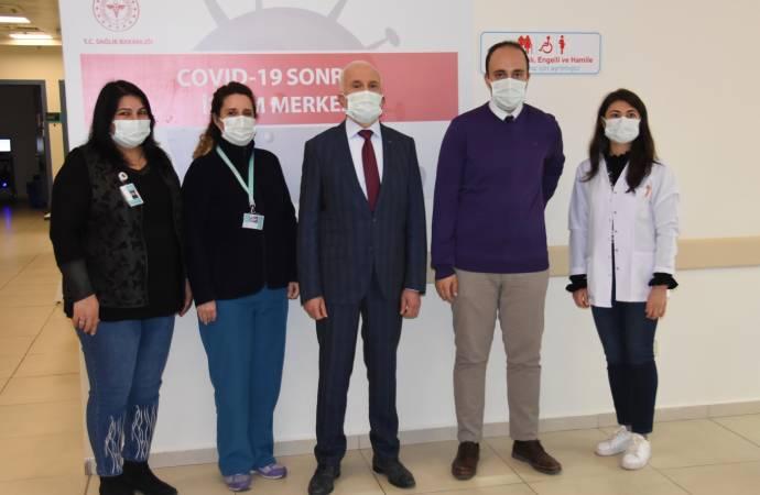 Türkiye'nin ilk 'Covid Sonrası İzlem Merkezi' açıldı