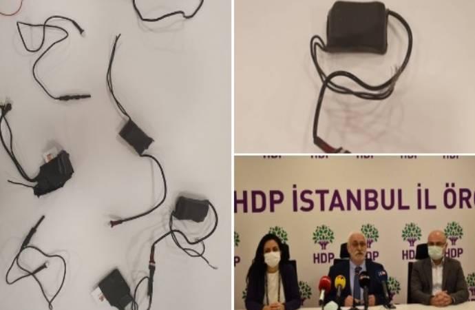 """HDP binasında dinleme cihazları; """"Bu kadar profesyonel çalışabilecek iki kurum var"""""""