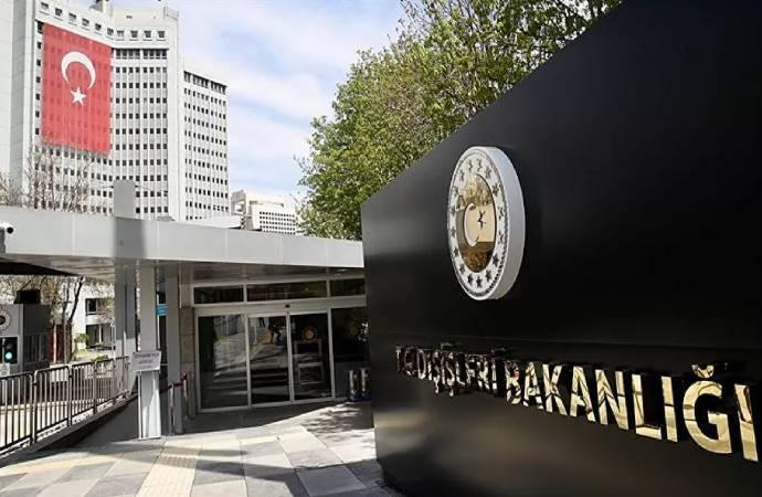 Dışişleri'nden AB'nin Türkiye kararına ilk tepki