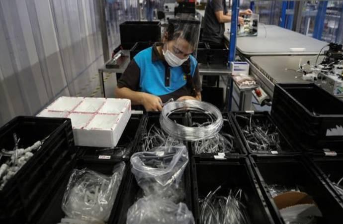 Sanayi üretimi ekim ayında beklentilerin üzerinde arttı