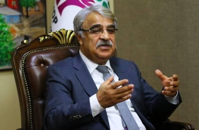 Sancar: AKP ve MHP bizim üzerimizden birbirine mesaj veriyor