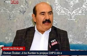 Osman Öcalan: Röportaj teklifi TRT'den geldi