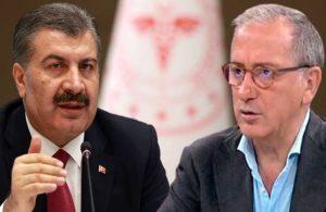 Bakan Koca'dan Fatih Altaylı'nın 'ölüm sayısı' iddiasına yanıt
