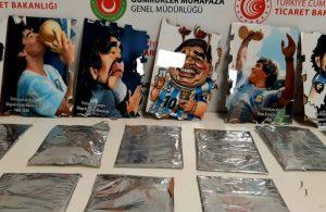 İstanbul Havalimanı'nda operasyon: Maradona'nın arkasından kokain çıktı