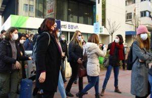 Kadın cinayetlerini protesto ederken gözaltına alınan 7 kadın serbest bırakıldı