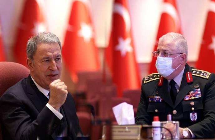 'Ordu' tartışmasına Milli Savunma Bakanı Akar ve Genelkurmay Başkanı da katıldı