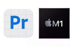 Adobe Premiere Pro Apple M1'de sorunsuz çalışıyor