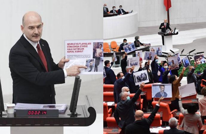 Meclis'te Soylu ile HDP'liler arasında 'Haysiyetsizler' gerginliği