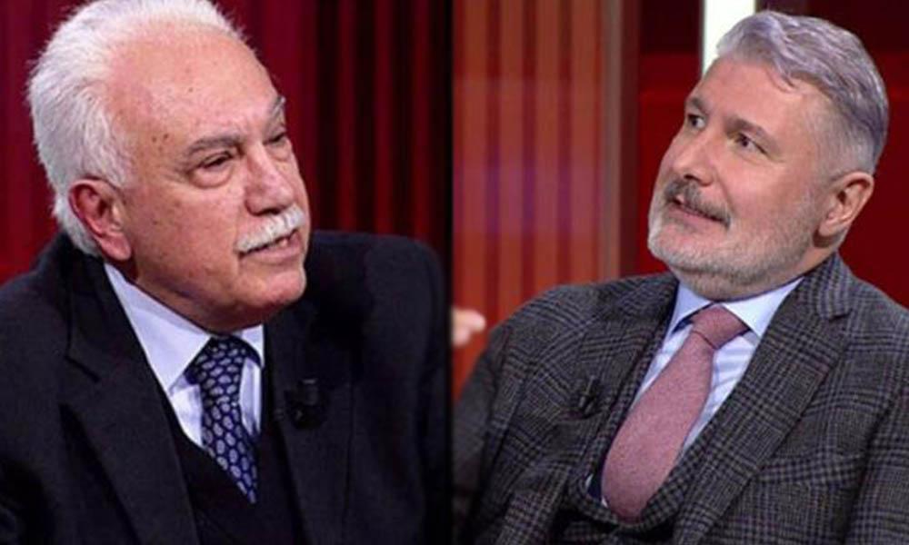 AKP'nin küçük ortağı Perinçek, canlı yayında şaştı kaldı: Herkes haddini bilsin