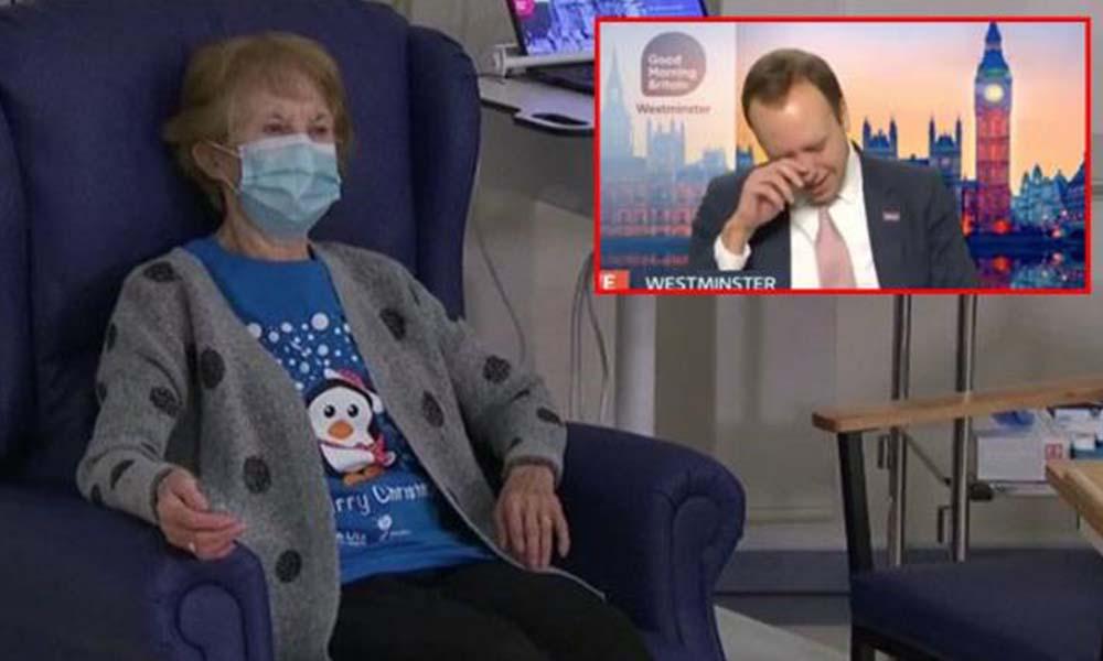 Canlı yayında ağlayan Sağlık Bakanı alay konusu oldu