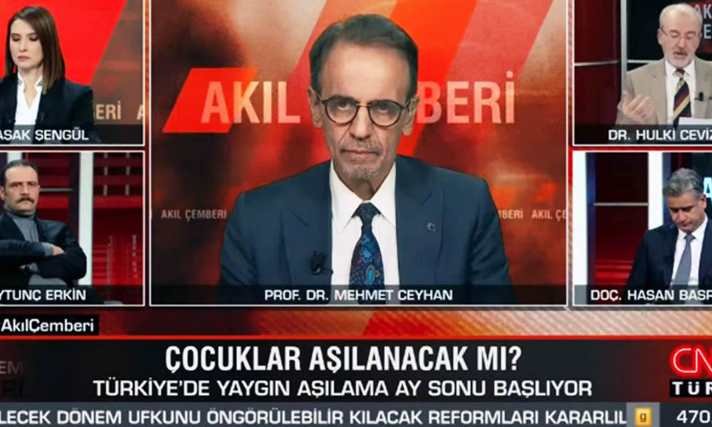 Canlı yayında fenalaşmıştı! Prof. Dr. Mehmet Ceyhan'ın rahatsızlığı ortaya çıktı