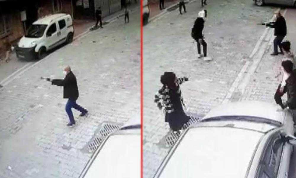 Çocukların top oynamasına sinirlendi! Sokakta pompalı tüfekle dehşet saçtı